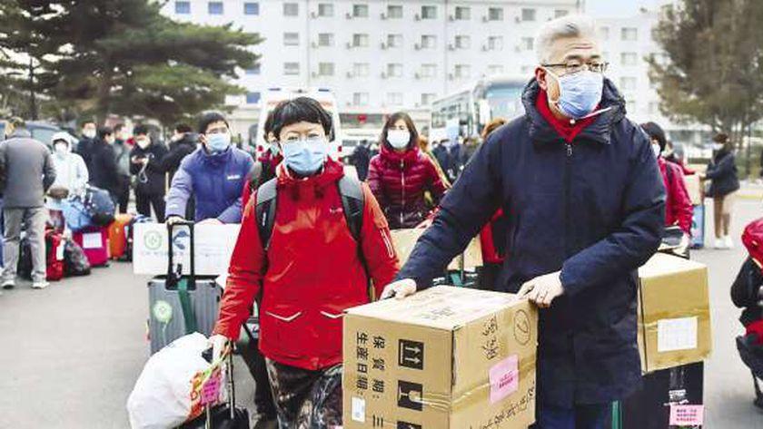 مخاوف الصينين من انتشار فيروس كورونا