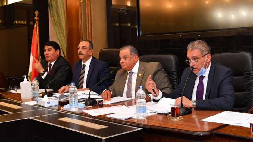 صورة لاجتماع اللجنة التشريعية بالنواب