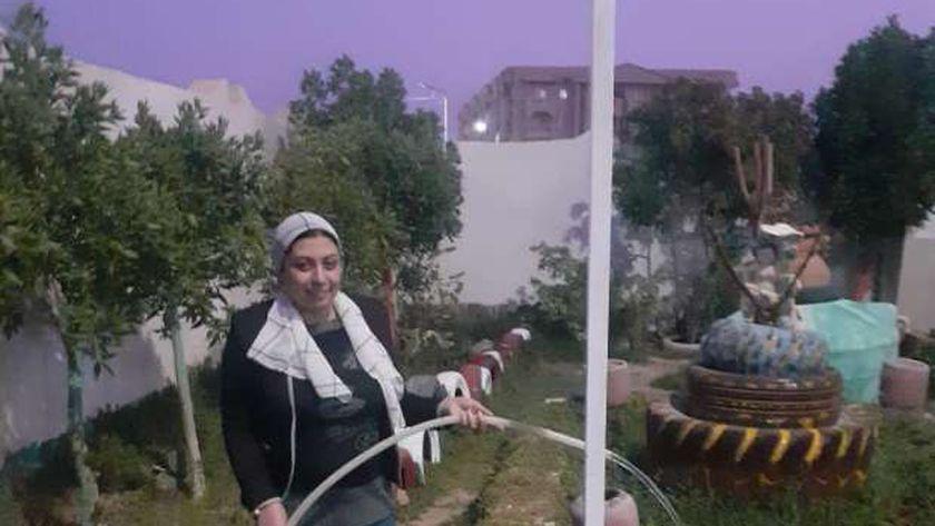 سماح وجيه مديرة مدرسة بلال بن رباح للتعليم الأساسي بالغردقة