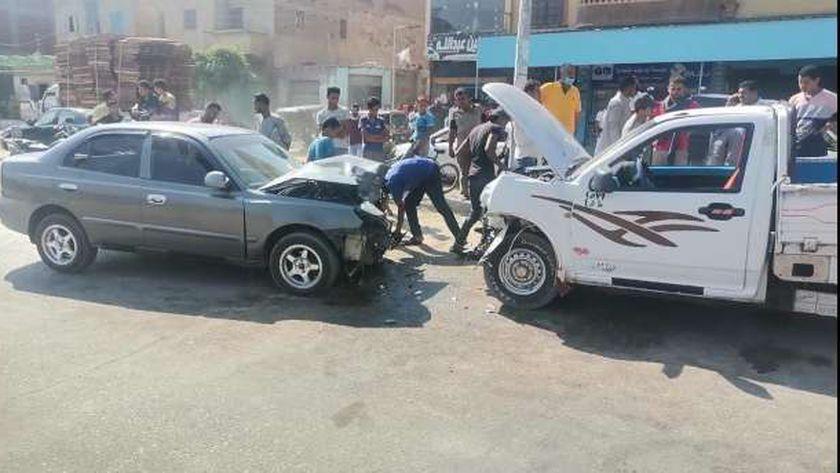 حادث طريق أبو صوير
