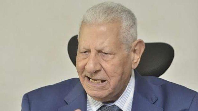 مكرم محمد أحمد رئيس المجلس الأعلى لتنظيم الإعلام السابق