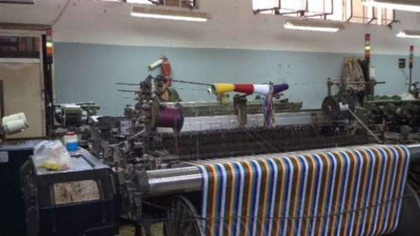 صتاعة النسيج اليدوي في مصر