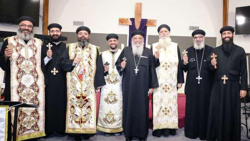 الاحتفال بافتتاح كنيسة مكاريوس الكبير