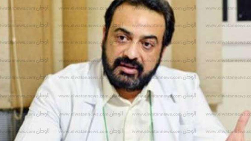 الدكتور حسام عبد الغفار .. المتحدث باسم وزارة التعليم العالي