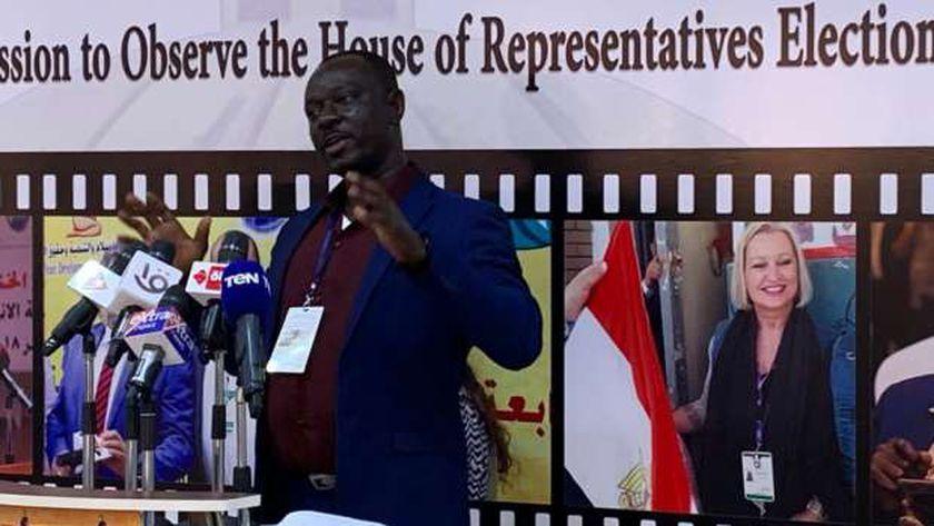 عضو بالبعثة الدولية لمتابعة انتخابات «النواب» يشيد بنزاهة العملية الانتخابية