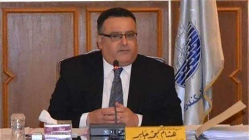 هشام جابر القائم بأعمال رئيس جامعة الإسكندرية
