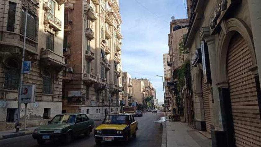 شارع فؤاد وسط الإسكندرية