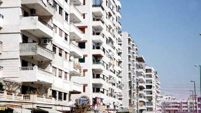 العمارات السكنية