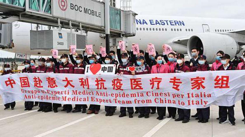 الصين أرسلت أطباء للعديد من الدول لمساعدتها فى أزمة «كورونا»