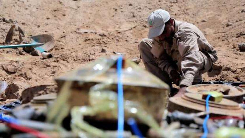 الألغام التي زرعتها ميليشيا الحوثي المسلحة في اليمن - أرشيفية
