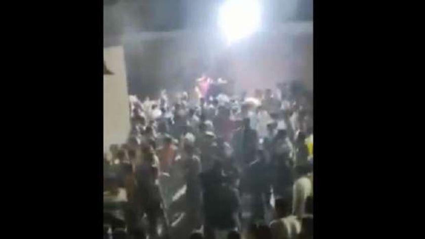 صورة من حادث المنيا