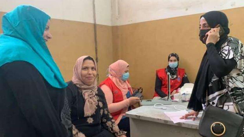 وكيل صحة الغربية:الكشف علي السيدات العاملات بوبريات سمنود