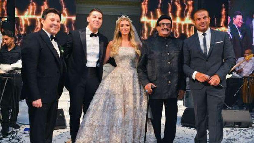 حفل زفاف نجل هاني شاكر