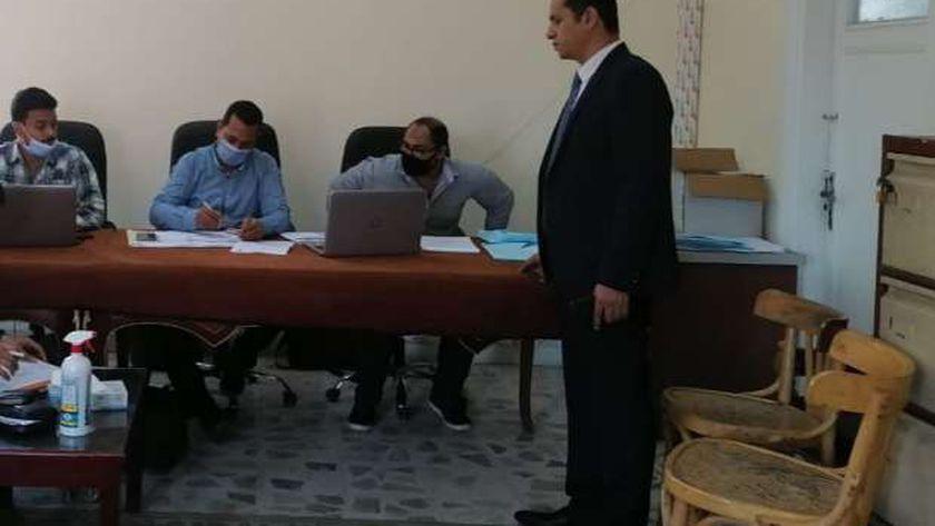 لجنة تلقى طلبات الترشح لانتخابات مجلس النواب بالبحر الأحمر