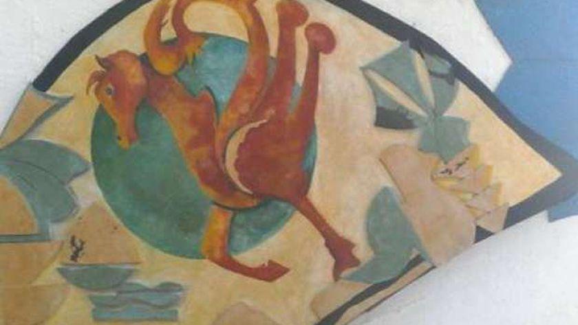 لوحة من المعرض