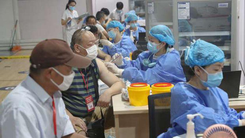 مراكز التطعيم ضد كورونا فى الصين