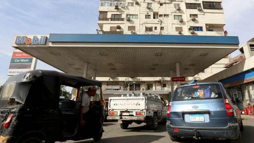 محطة البنزين