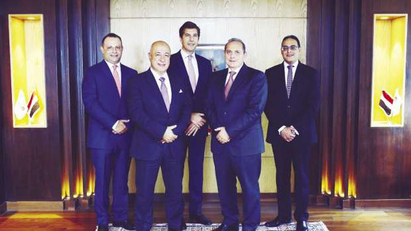 قيادات البنك الأهلي المصري