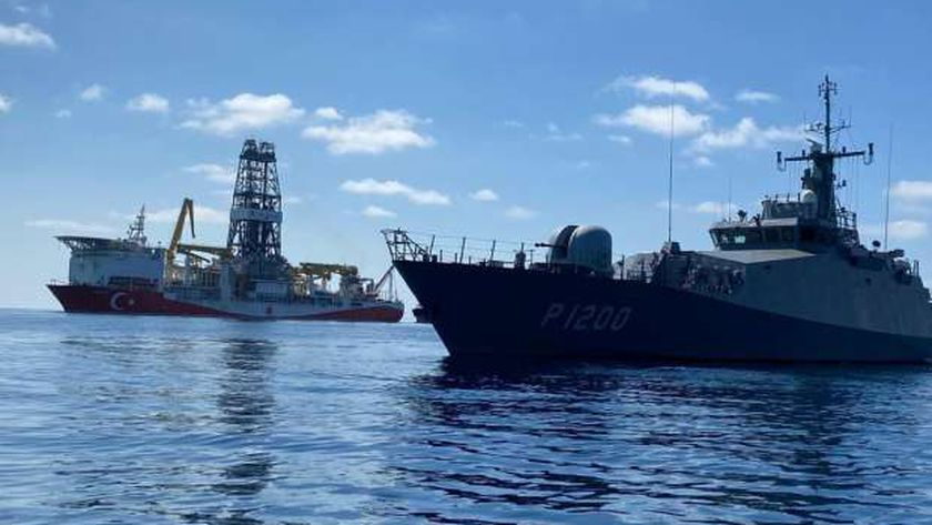 سفن التنقيب التركية في شرق المتوسط