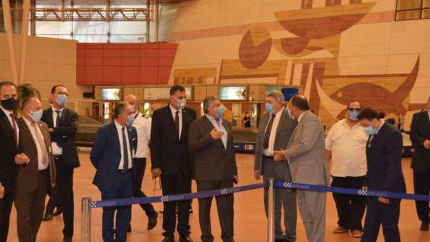 مطار القاهرة الدولي يستقبل اليوم 177 رحلة تقل على متنها 20 ألف مسافر من جنسيات مختلفة
