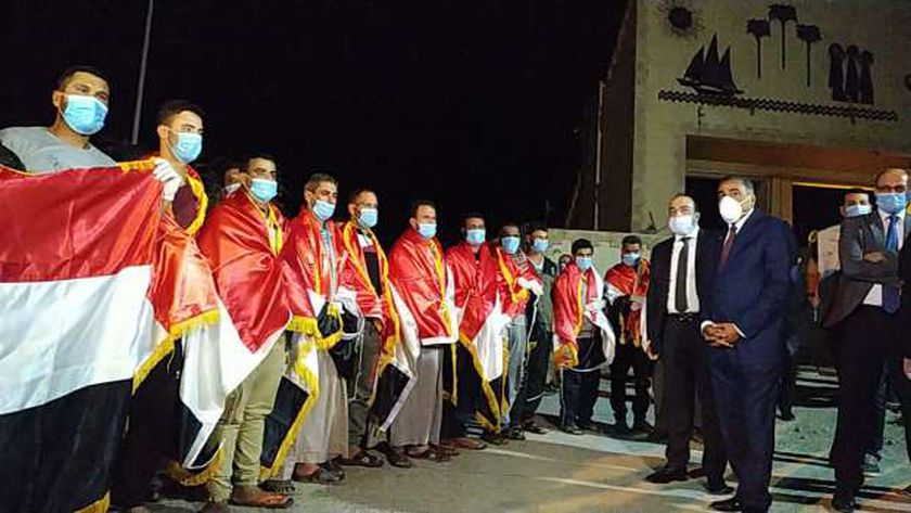 المصريون العائدون من ليبيا