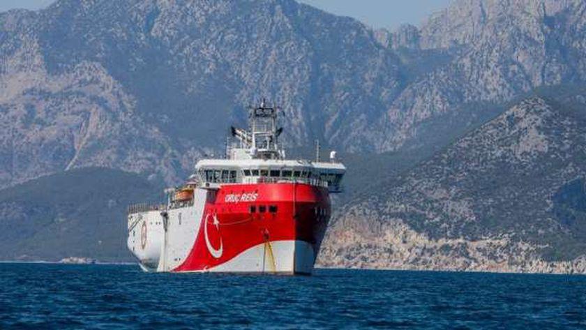 سفينة عروج ريس التركية