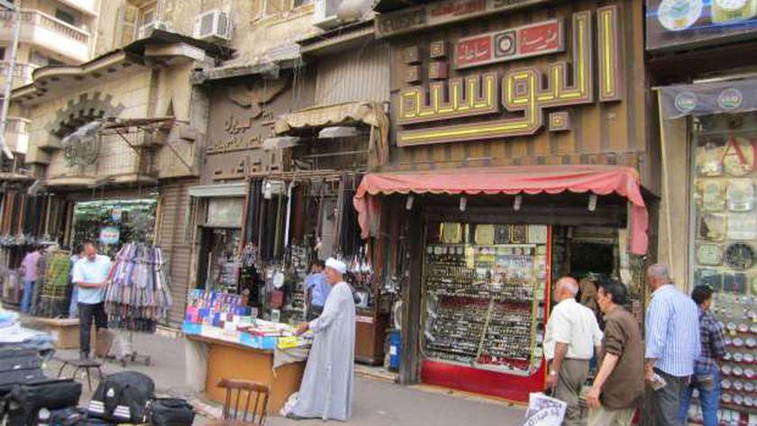 الشوارع التجارية في القاهرة