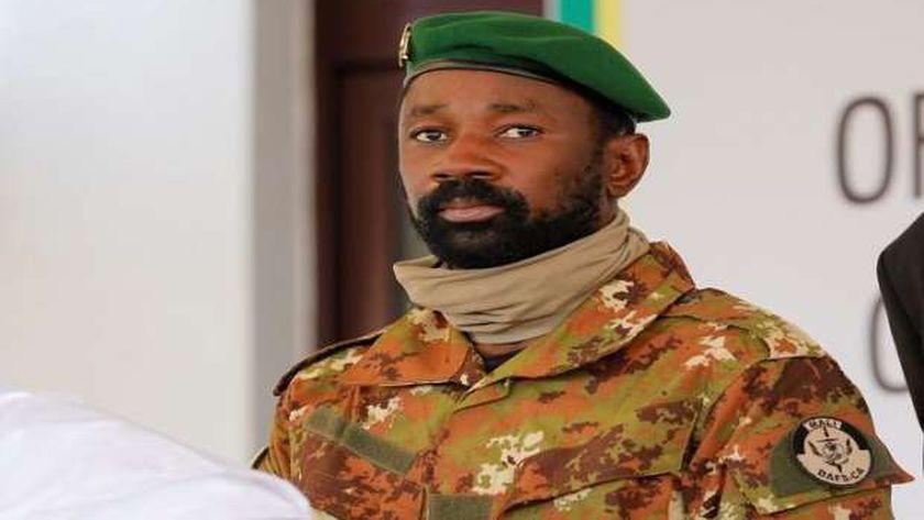 رئيس مالى المؤقت الكولونيل عاصمى جويتا