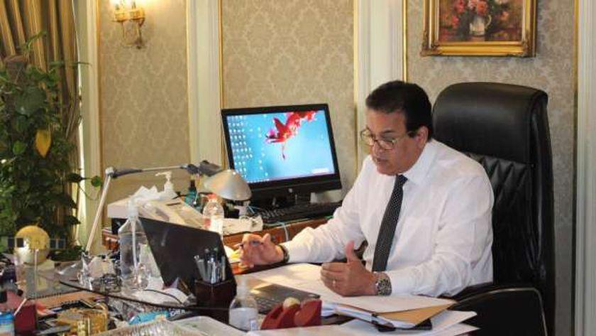 الدكتور خالد عبدالغفار ..وزير التعليم العالي والبحث العلمي