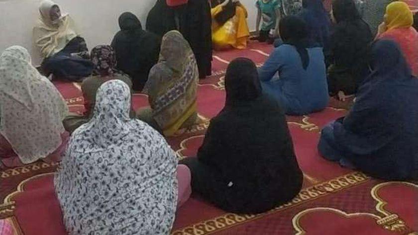 ندوات توعيو عن كورونا بالمساجد