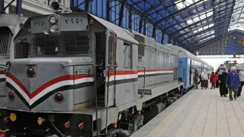 أحد قطارات السكة الحديد - صورة أرشيفية