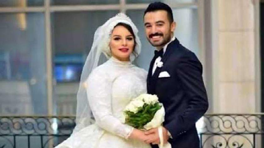 طبيب الأسنان المتهم بقتل زوجته الطبيبة ياسمين بالمنصورة