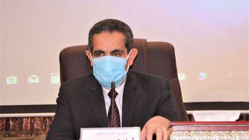 محافظ الغربية د. طارق رحمي