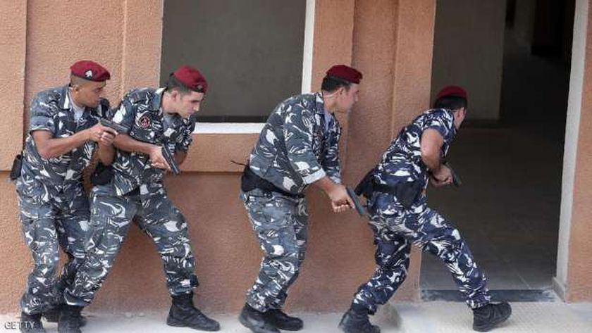 قوات الأمن البنانية