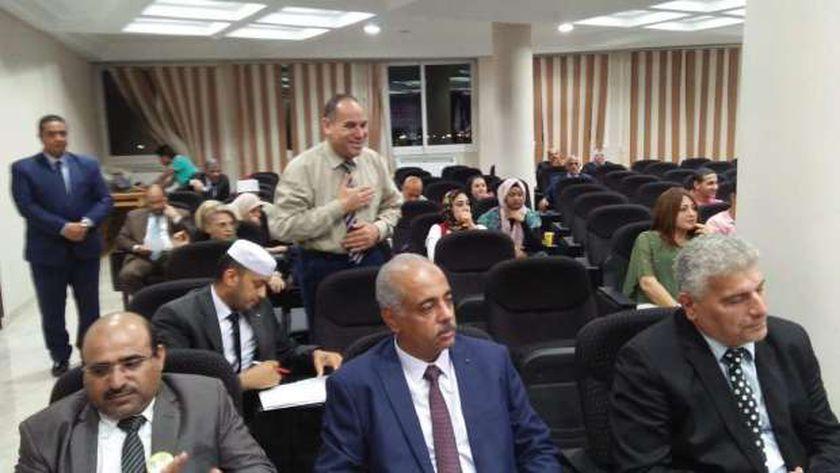 المؤتمر السادس عشر للشباب العربى  يوصي وزراء الداخلية العرب بإنشاء ادارات خاصة ومستقلة للهجرة الغير شرعية