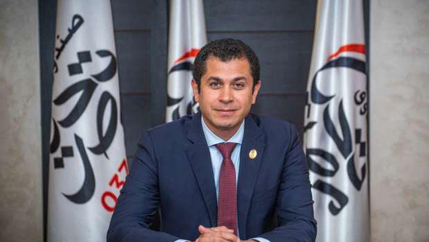 المدير التنفيذي لصندوق تحيا مصر تامر عبد الفتاح