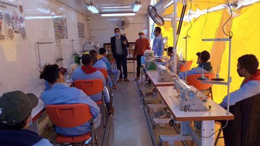 القوى العاملة تطلق تدريبات الوحدات الحرفية المتنقلة بجنوب سيناء