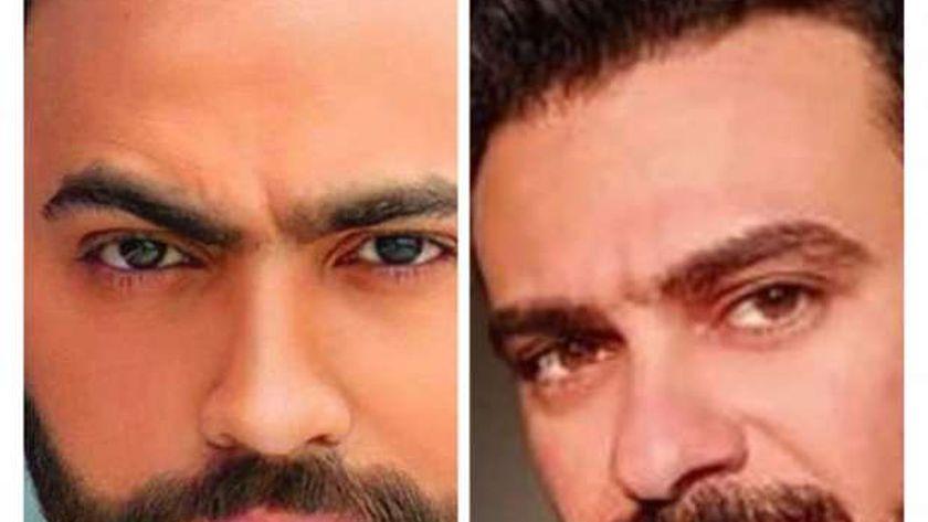 كريم الحسيني وتامر حسني