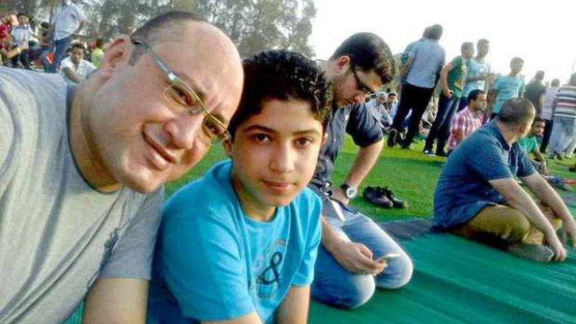 محمود البنا ووالده