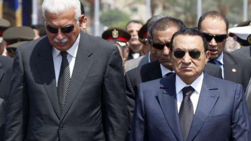 حسني مبارك وأحمد نظيف