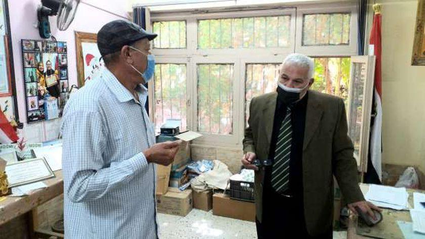 متابعة امتحانات الدبلومات الفنية بالإسكندرية