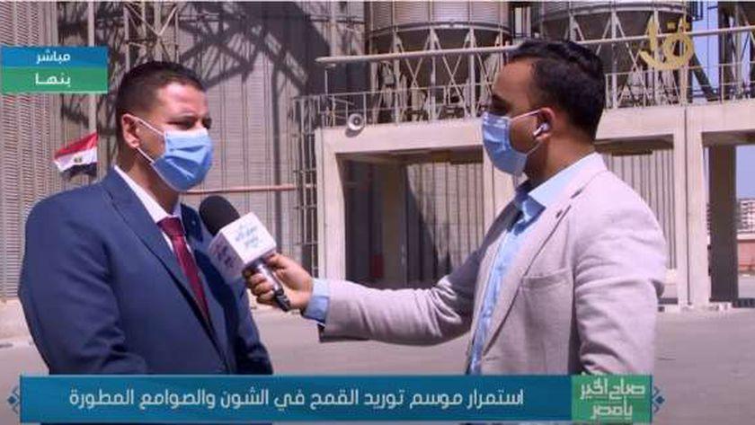 محمد عبدالله مدير صومعة بنها