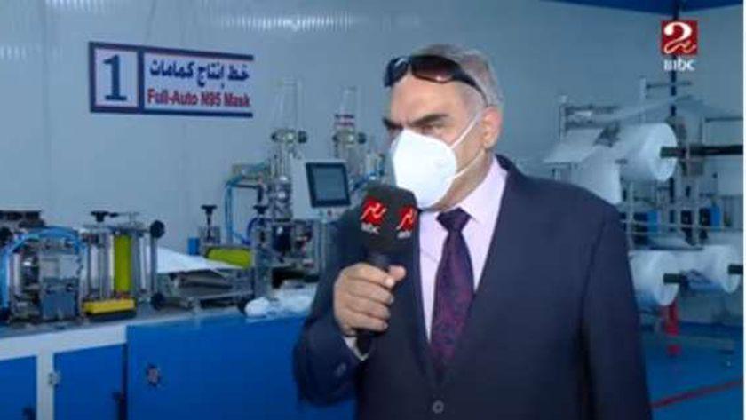 المهندس أحمد منظور رئيس مجلس إدارة مصنع قادر للهيئة العربية للتصنيع