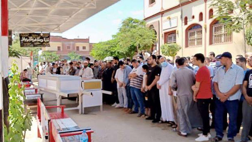 جنازة نجل شقيق الشيخ أبو العينين شعيشع