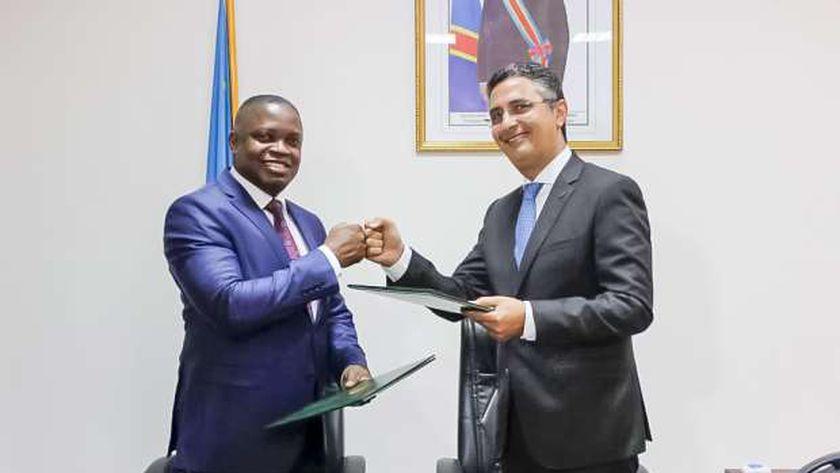 تعاون بين البريد المصرى والبريد الكونغولي