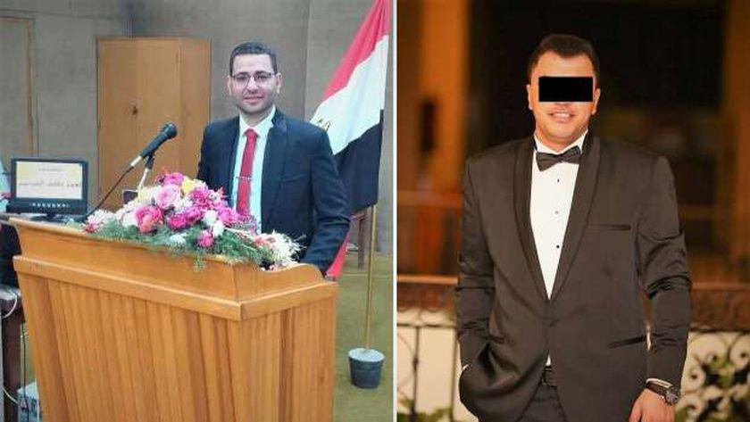 المهندس أحمد عاطف وصديقه المتهم