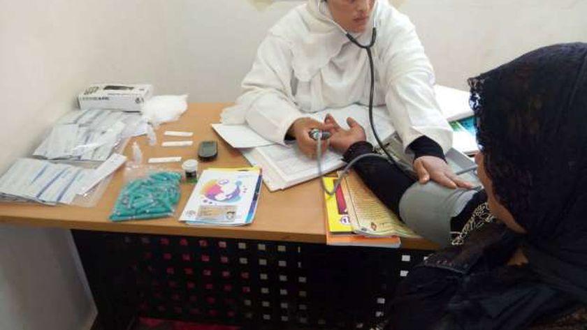 استمرار أعمال مبادرة رئيس الجمهورية لدعم صحة المرأة والجنين في أسوان