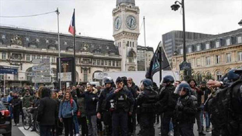 مظاهرات سابقة فى فرنسا