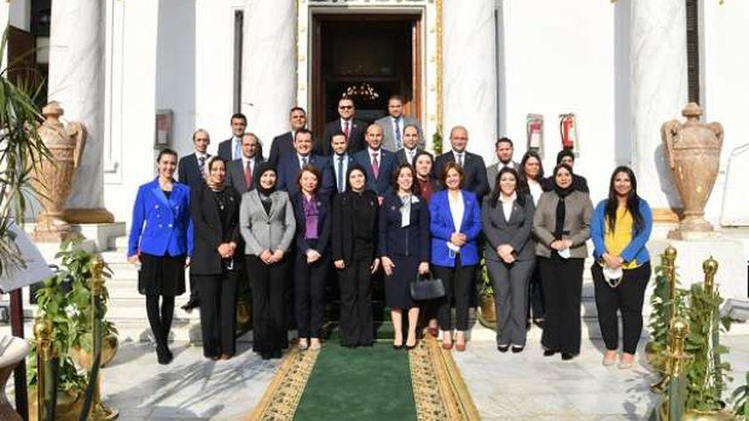 عدد من أعضاء تنسيقية شباب الأحزاب الفائزين بعضوية مجلس النواب