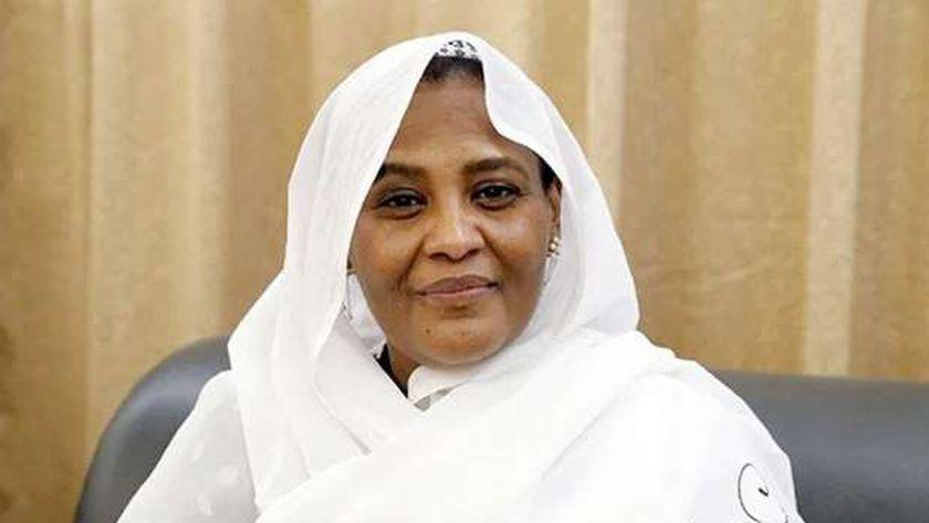 وزيرة الخارجية السودانية، الدكتورة مريم الصادق